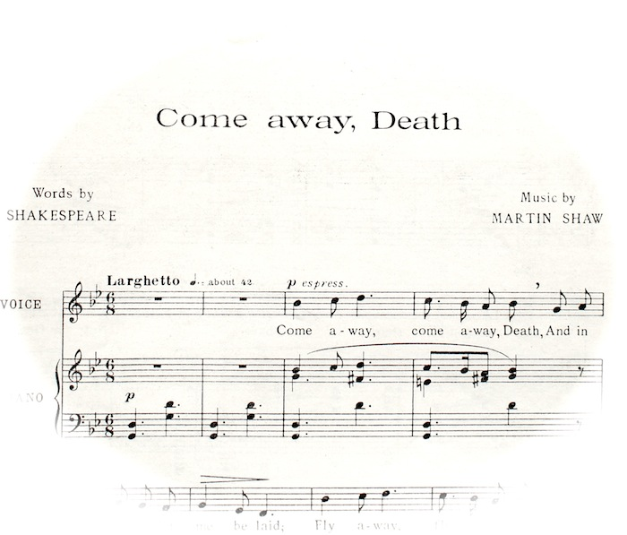 come away death finzi pdf